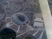 Over the Athens Olympic Complex (OAKA)